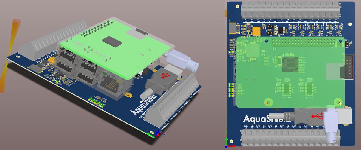 circuit aquashield main module