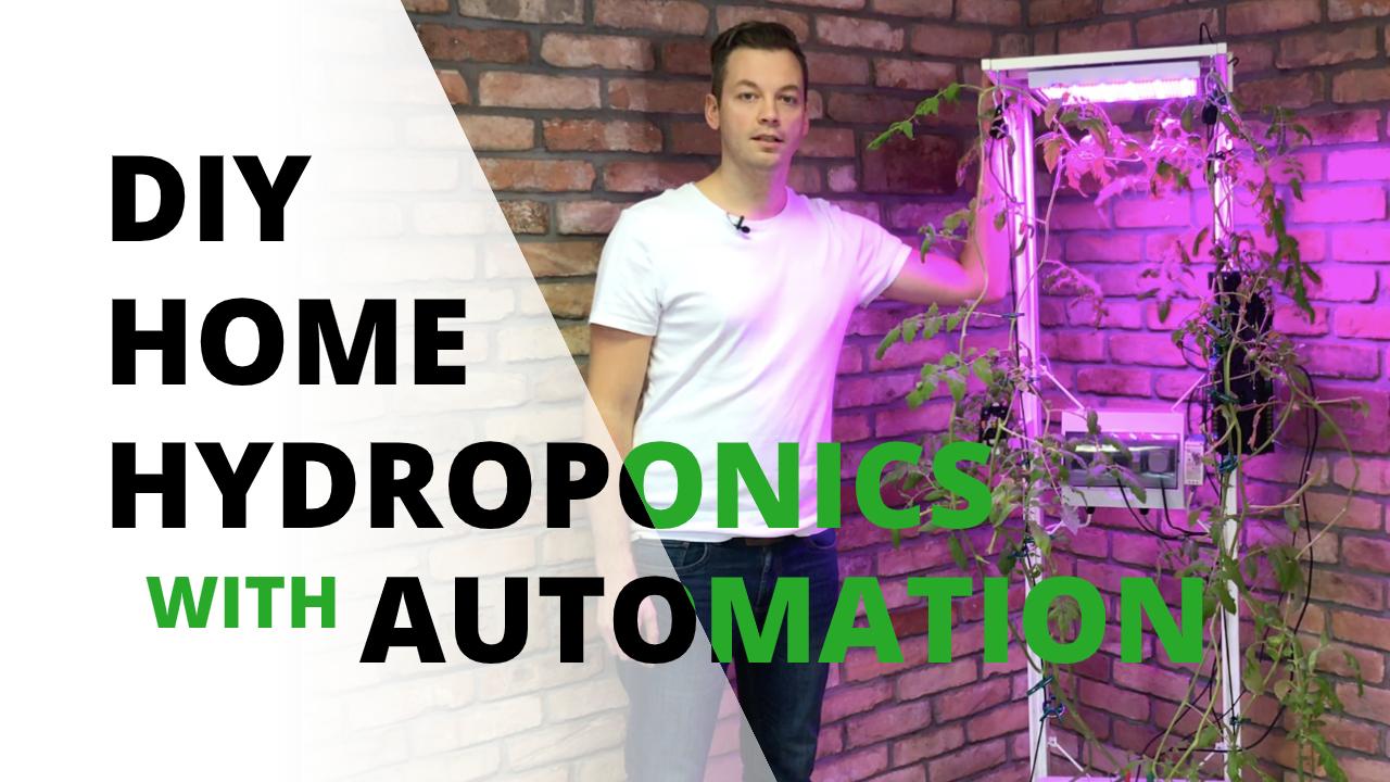 diy indoor hydroponic system